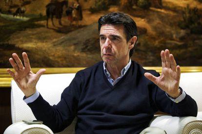 José Manuel Soria el pasado abril, tras dimitir como ministro de Industria