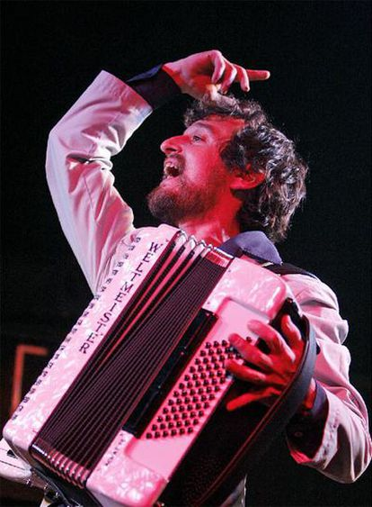 Nacho Mastretta, en el concierto de ayer en la sala Galileo.
