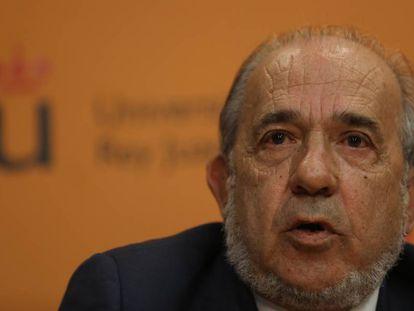 Enrique Álvarez Conde, director del Instituto de Derecho Público de la Universidad Rey Juan Carlos.
