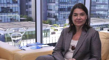 Belen Crespo Sánchez,  directora de la Agencia Española de Medicamentos y Productos Sanitarios.