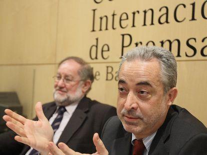 Josep Carles Rius, presidente del Consell de la Informació de Catalunya, en una foto de archivo. / [Carles Ribas]