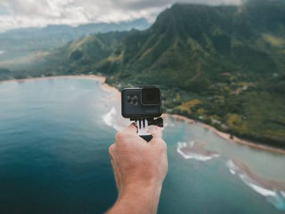 La GoPro es la cámara de acción por excelencia y su modelo Hero 5 Black se encuentra actualmente en oferta.