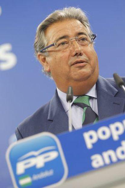 El presidente del PP andaluz, Juan Ignacio Zoido, el pasado agosto.
