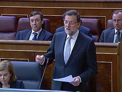 Duro enfrentamiento de Rajoy y Rubalcaba tras el debate sobre Cataluña