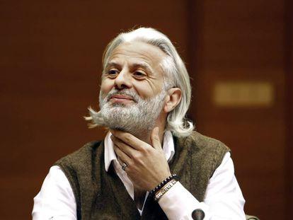 Marcos Benavent, el arrepentido del caso Taula, e investigado en el caso Imelsa, hace dos años en las Cortes valencianas.