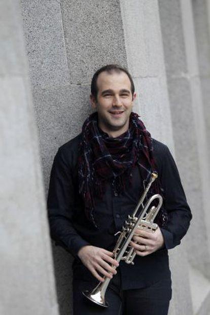Manuel Blanco, trompetista de la Orquesta Nacional de España.