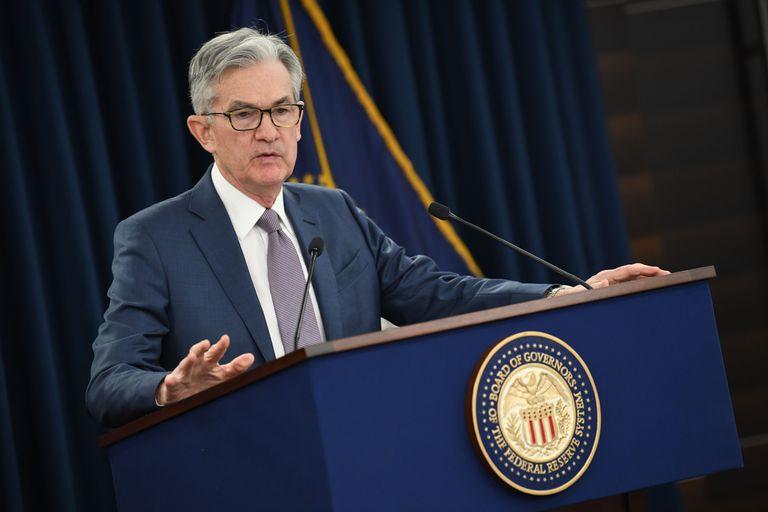 El presidente de la Reserva Federal de Estados Unidos, Jerome Powell.