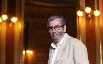 Antonio Muñoz Molina, tras serle concedido el Premio Príncipe de Asturias de Las Letras.