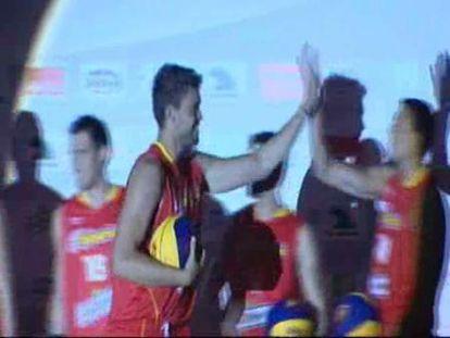 La selección española de baloncesto comienza la preparación para el campeonato del mundo
