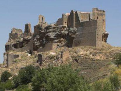 Castillo de Zorita de los Canes.