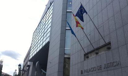 Audiencia Provincial de Oviedo, en noviembre del año pasado.