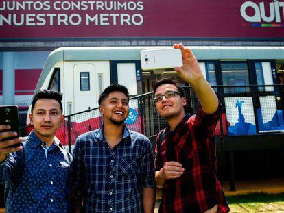 El Metro de Quito tendrá 18 trenes y cada uno transportará a 1.200 personas.