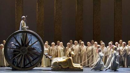 Un momento de la ópera 'La flauta mágica'.