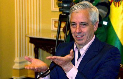 El vicepresidente de Bolivia, Álvaro García Liñera.