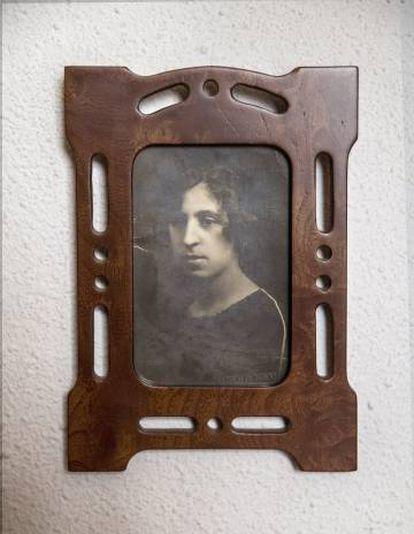 Amelia, madre de Antonio Gamoneda.