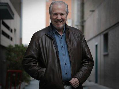 Richard Vaughan, visitando las instalaciones de EL PAÍS.