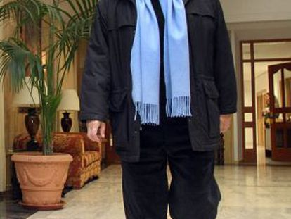 Rafael Gómez, en los pasillos del Ayuntamiento.