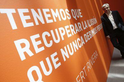 Luis Garicano, director de la oficina económica de Ciudadanos.