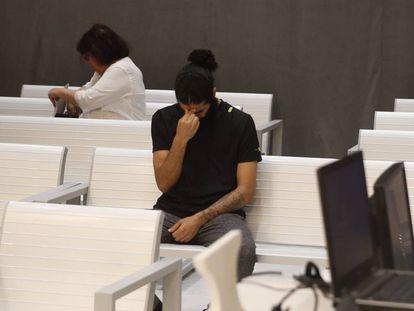 La Audiencia Nacional juzga a un joven de 26 años (imagen) el pasado 20 de julio por presuntamente liderar un grupo yihadista en Melilla.