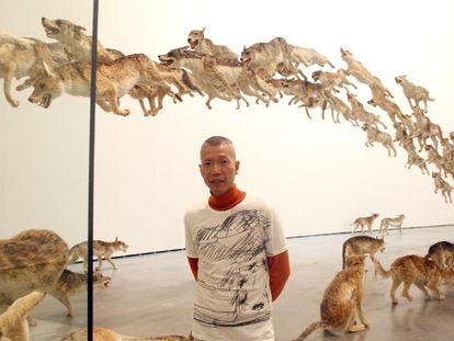 Los lobos de Cai Guo-Qiang toman el Guggenheim