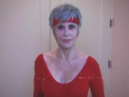 Jane Fonda, en un vídeo pidiendo el voto.