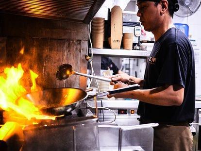 Restaurante de la cadena Udon, que abrió su primer local en 2004.