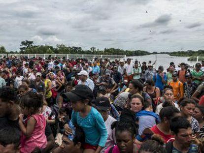Una nueva caravana prevista desde San Pedro Sula, en Honduras, pone en guardia a Estados Unidos, México y Centroamérica