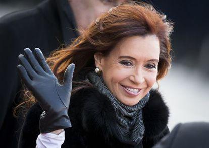 Cristina Fernández de Kirchner, en abril pasado.