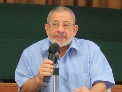 El actual presidente de la Comisión Islámica de España (CIE), Aiman Adlbi, en una imagen de archivo.