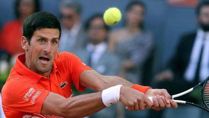 Djokovic se enfrenta a Tsitsipas en la final del Mutua Madrid Open 2019