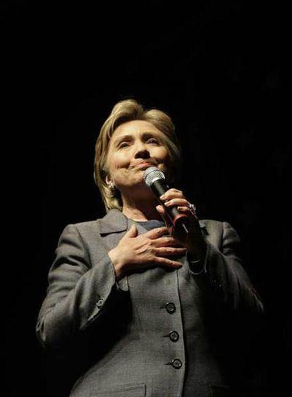 Hillary Clinton, el pasado abril en Nueva York.
