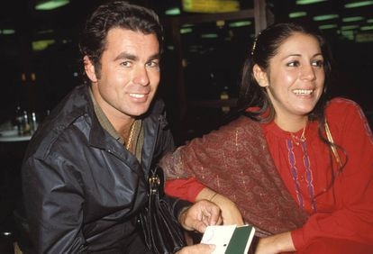 Paquirri e Isabel Pantoja durante su noviazgo.