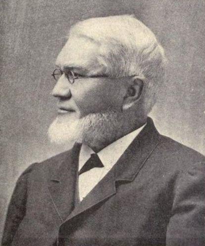 El reverendo Sereno Edwards Bishop (1827–1909).