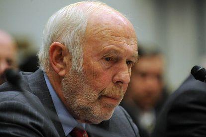 James Simons en 2008 durante una reunión en Washington, DC.