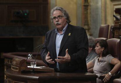 Pleno del Congreso de los Diputados. Sesión de control al Gobierno. Joan Tardà, portavoz de ERC.