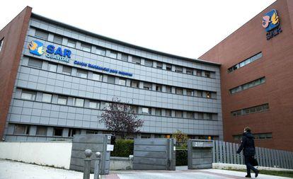 Residencia para mayores en la zona norte de Madrid.