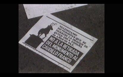 Una imagen capturada del documental.