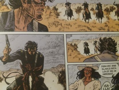 Action vignettes from 'Apache Rencor'.