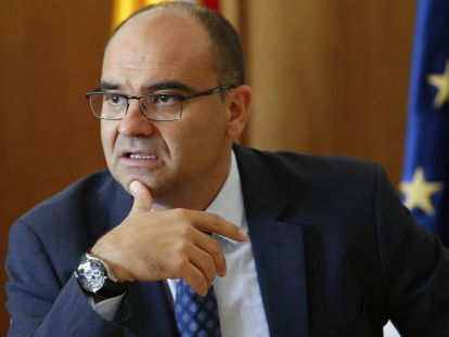 Manuel Palomar, rector de la Universidad de Alicante.