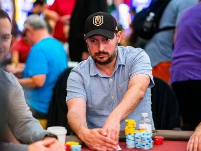 Nate Silver, durante su participación en el WPT Venetian, en Las Vegas.