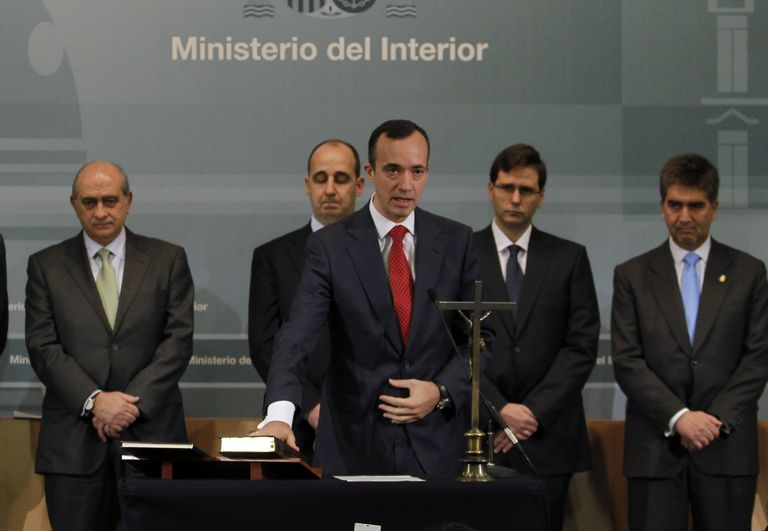 Toma de posesión de Francisco Martínez Vázquez, en el año 2012.