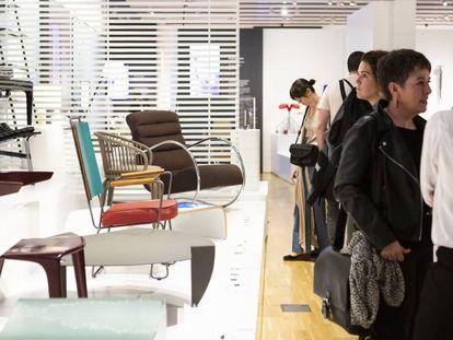 La exposición permanente del Museo del Diseño.