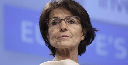 La comisaria europea de Empleo, Asuntos Sociales, Capacidades y Movilidad Laboral, Marianne Thyssen.