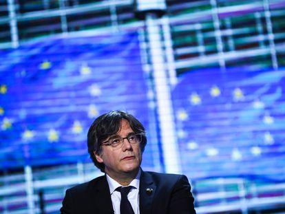 Carles Puigdemont, el pasado marzo, en el Parlamento Europeo.