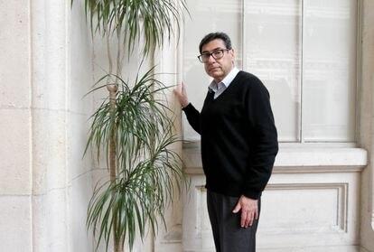 El economista francés Philippe Aghion, en la sede de la Fundación BBVA en Bilbao, este martes.