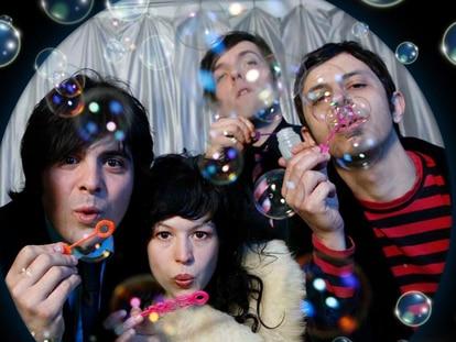 La banda neoyorquina The Orion Experience.