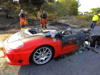 El Ferrari del jugador