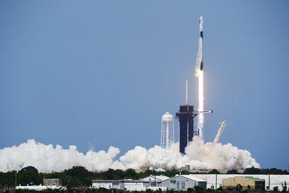 Lanzamiento de una nave de SpaceX con astronautas de la NASA, desde Cabo Cañaveral (Florida), el pasado 30 de mayo.
