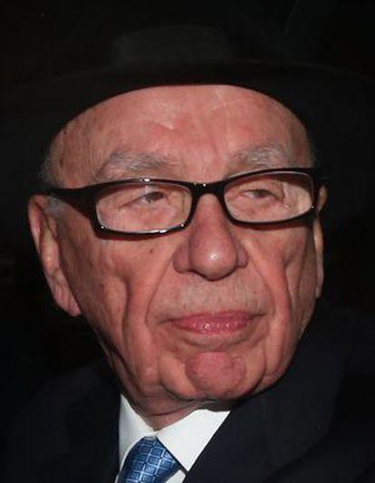 Rupert Murdoch, en abril en Londres.