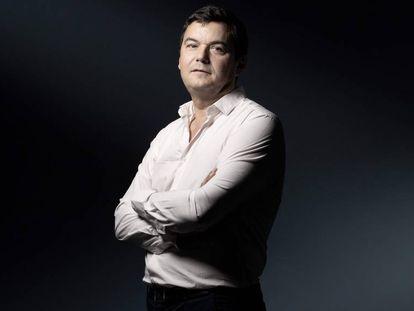 El economista francés Thomas Piketty, autor de 'Capital e ideología', el 10 de septiembre pasado en París.
